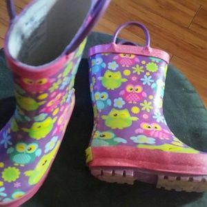 Colorful rainboots